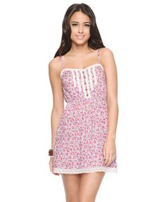 Lace Trim Sundress | FOREVER21 - 2064788146