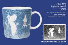 Moomin Mug # 90 Moomin Mugs, Tove Jansson, Marimekko, Magic The Gathering, Vikings, Folk Art, Original Artwork, Scandinavian, Seasons