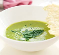 Full of fresh flavours, this Shropshire Pea and Mint Soup makes for a delicious starter or light lunch. Aga Recipes, Irish Recipes, Cooking Recipes, Pea And Mint Soup, Aga Cooker, Cilantro, Pea Soup, Latest Recipe, Soups And Stews