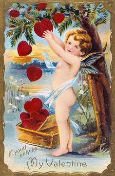 The History of Valentine's Day Actually Isn't That Romantic#day #history #isnt #romantic #valentines My Funny Valentine, Valentine Cupid, Valentines Art, Saint Valentine, Valentine Hearts, Valentine Ideas, Victorian Valentines, Vintage Valentine Cards, Valentine Day Cards