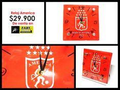 El Reloj de la Mechita, el #America. De venta en #FabySport.
