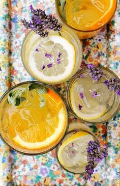 Citrus and Herb Vodka Tonics from BakersRoyale