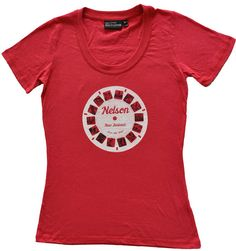 Ladies Nelson Retro 3D Viewfinder Tee by SonjaHandcraftedTees