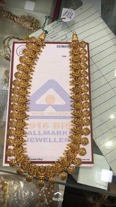 Gold Wedding Jewelry, Bridal Jewelry, Gold Jewelry, Gold Necklaces, Flower Jewelry, Jewelry Design Earrings, Gold Jewellery Design, Necklace Designs, Gold Designs