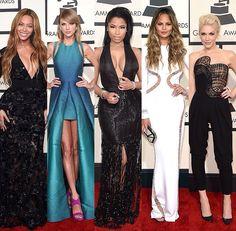 Grammys 2015: Beyoncé, Taylor Swift, Nicki Minaj, Chrissy Teigen, Gwen Stefani