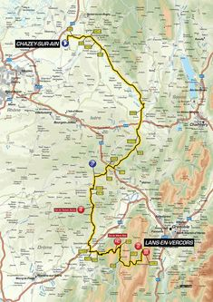 https://www.criterium-du-dauphine.fr/en/stage-4  The route through the vercours was fantastic scenery - check it out on a map