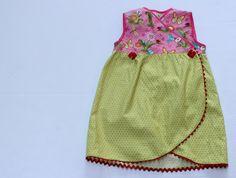 Tulip hem dress // free pattern
