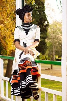 Traditional Xhosa Dresses Wedding,The acceptable old traditional Xhosa trend never gets boring, appearance lovers keeps accepting artistic South African Dresses, South African Weddings, African Dresses For Women, African Print Dresses, African Attire, African Wear, African Women, African Style, African Prints