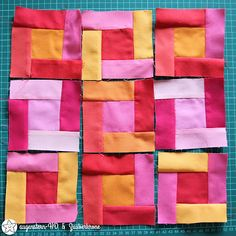 "Row by Row Quilt 2018 - ""Bright Hopes"" Februar"