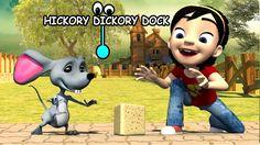 Hickory Dickory Dock Nursery rhymes  Clowns entertainment
