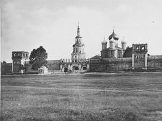Donskoy Monastery is a major monastery in Moscow, founded in 1591 in commemoration of Moscow's deliverance from an imminent threat of Khan Kazy-Girey's invasion.