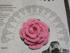 Новые розы в вашу коллекию вязаных цветов. Обсуждение на LiveInternet - Российский Сервис Онлайн-Дневников
