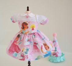 BLYTHE Dress VINTAGE Girly Birthday Dress and by SweetPetiteShoppe
