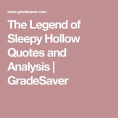 a critique of the landscape and theme in the legend of sleepy hollow The legend of sleepy hollow and other stories: or review: washington irving's sketchbook roy lotz in books, fiction & literature, ny & us, reviews july 16 but irving does not stick to this theme very diligently.