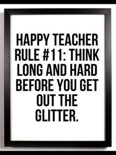 Teacher rule