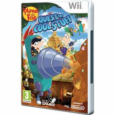 Phineas y Ferb Quest for Cool Stuff Wii