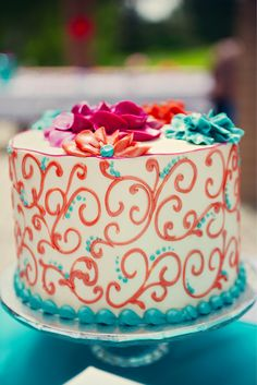 Un pastelito simple