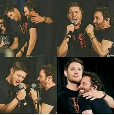 Dean and his father in-law