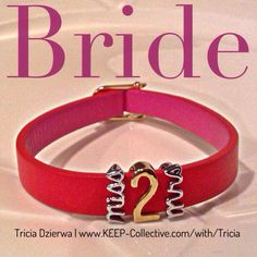 TRICIA DZIERWA | Founding Independent Designer, KEEP Collective ~ E | tdzierwa@bex.net ~ Facebook | https://www.facebook.com/TriciaDzierwaJourney ~ http://www.keep-collective.com/with/Tricia      #bracelets #jewelry #personalized #KEEPcollective #KEEPsisters #bride #wedding #engagement #bridesmaids #valentine