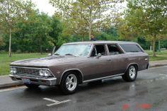 1966 Chevrolet Chevelle Wagon, four door, cool, family cruiser