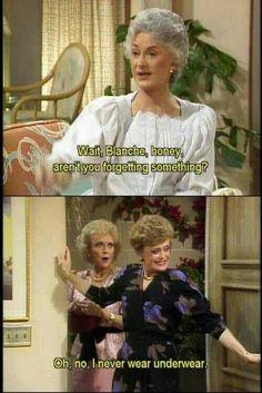 Ha...The Golden Girls!