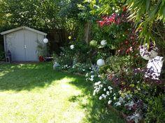 Spring garden next to Paris, France