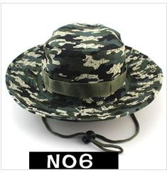 Military Camping Outdoor Bucket Hat