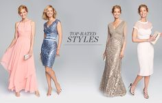 Top-rated styles. Mother-of-the-bride dresses.