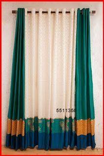 Indian Room Decor, Ethnic Home Decor, Diy Room Decor, Bedroom Decor, Home Curtains, Curtains Living, Indian Home Interior, Home Interior Design, Curtain Designs