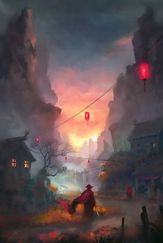 Nasal drops can be addictive - Health News - PİNYHOUSE - Selection of digital painting inspiration – - Fantasy Landscape, Landscape Art, Asian Landscape, Landscape Concept, Art Environnemental, Scenery Wallpaper, Landscape Wallpaper, Fantasy Kunst, Environment Concept