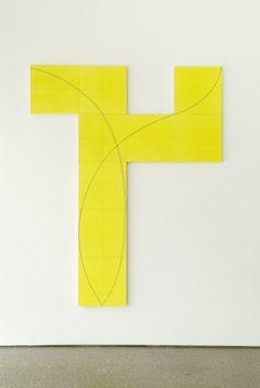 Robert Mangold, Column Structure IX, 2006