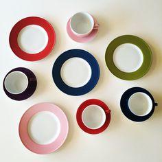 Dibbern solid color via Klevering.com