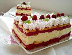 Torte Recepti, Kolaci I Torte, Baking Recipes, Cake Recipes, Dessert Recipes, Yogurt Dessert, Torte Cake, Croatian Recipes, Creative Cakes
