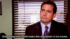 """He knew what happiness was.   Community Post: 82 Reasons Why """"The Office's"""" Michael Scott Was The World's Best Boss"""