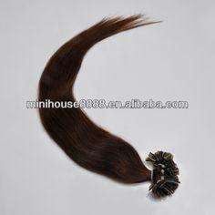 1.100% human hair  2.Length:22inch     Colour:# 02     Weight:50g
