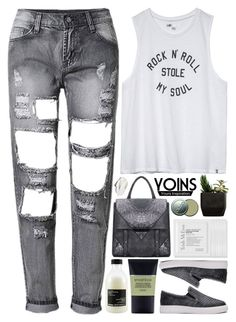 """Yoins 3.21"" by emilypondng ❤ liked on Polyvore featuring Davines, Volcom, Trish McEvoy, Smashbox, CARGO and yoins"