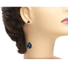 Lange Ohrrinige sind in dieser Saison ein Muss Drop Earrings, Jewelry, Fashion, Ear Rings, Jewellery Making, Moda, Jewelery, Drop Earring, Jewlery