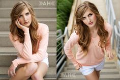 Amanda Holloway (senior posing)