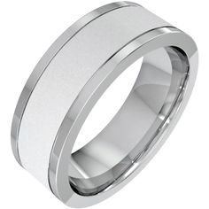 A stunning mixed finish mens wedding ring in 18ct white gold from London family run jewellers, Purely Diamonds, www.purelydiamonds.co.uk