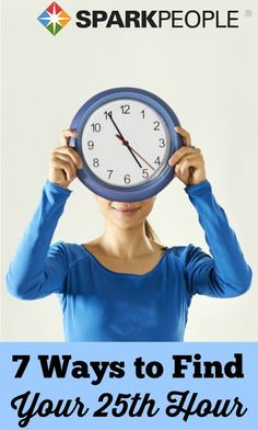 Yes, you CAN stretch the number of hours in a day! Here's how to find time to get everything done. | via @SparkPeople #wellness #healthyliving #organization #timemanagement #productivity