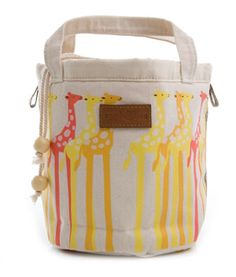 travel bag - holds toys, snacks etc. for kids or adults to carry. more of the lovely elephant print.