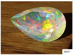 Faceted Opal