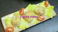 How to make Gyoza Roses -- Japanese home cooking Japanese House, Japanese Food, Chinese Cooking Wine, Chinese Cabbage, Celery, Gothic, Frozen, Restaurant, Stuffed Peppers