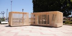 Gallery - Cadiz Temporary Pavilion / Breathnach Donnellan with EASA Participants - 1