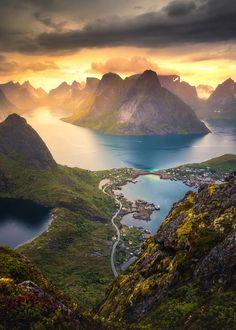 """coiour-my-world: """"Reinebringen, Norway ~ Lauri Lohi """""""