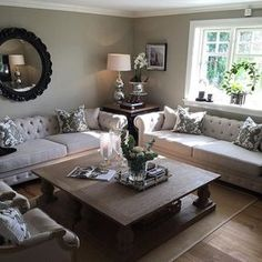 decor ideas-luxe-interior design-home-decor-living Look at this living room By Decor, Formal Living Rooms, Living Dining Room, Home N Decor, Home And Living, Living Room Designs, Interior, Home Decor, Room Decor