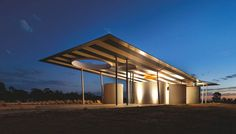 Calder Woodburn Rest Area - BlueScope Steel