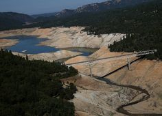 7 Powerful Photos Before And After The California Drought. -------Even after looking at all of these photos, if you still deny climate change, there are no words I can use to properly convey how much of a shit-for-brains moron you truly are. If you don't believe in climate change, I don't believe you should be allowed to vote and decide who makes our laws.