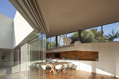 paritzki & liani architects: house R/D  (Con alberca en medio estaría chido)