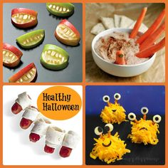 We all know that Halloween is a night of candy fun and stomach aches and wildness all around. Why not start the kids off right with some healthy and fun and totally adorable treats!  At least they will have something healthy in their tummies before departing on their halloween candy quest. Get all these recipes…